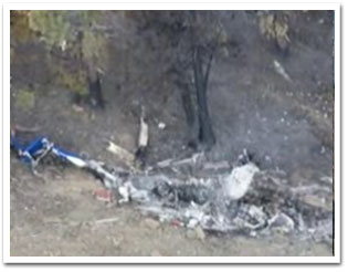 Redding Crash Site